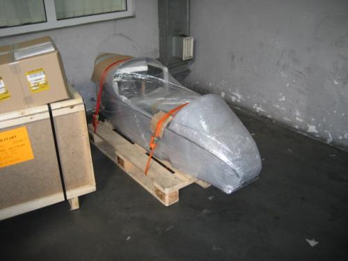 Indian Gondola ready to ship