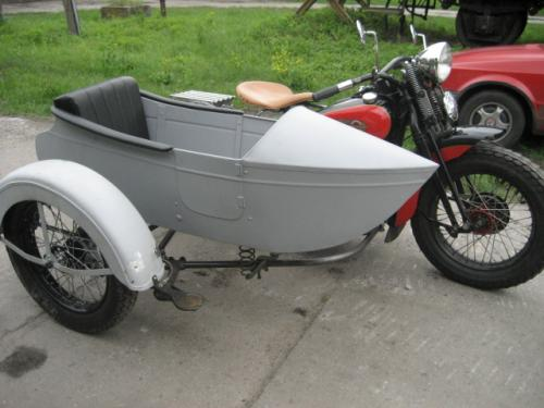 UL 1937 with LS 29 Goulding sidecar